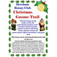 Christmas Gnome Trail